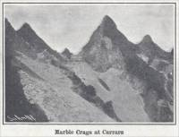 """Marble Crags at Carrara"" (Italy, ca. 1907)"