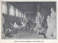 """Where Carrara sculptors learn their art""  (Carrara, Italy, ca. 1907)"