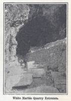 """White Marble Quarry Entrance"""