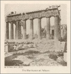 The Parthenon at Athens (1923)