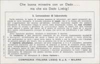 Marble Work, Italian trade card (back)