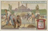 The Sandstone Paving, Italian trade card (front)