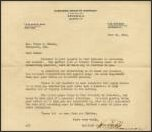 Letter from Harrison Granite Co. to a customer in June 1921