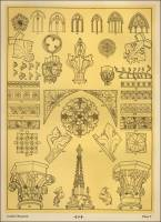 "Gothic Ornamentation Patterns in ""Sources of Memorial Ornamentation"""