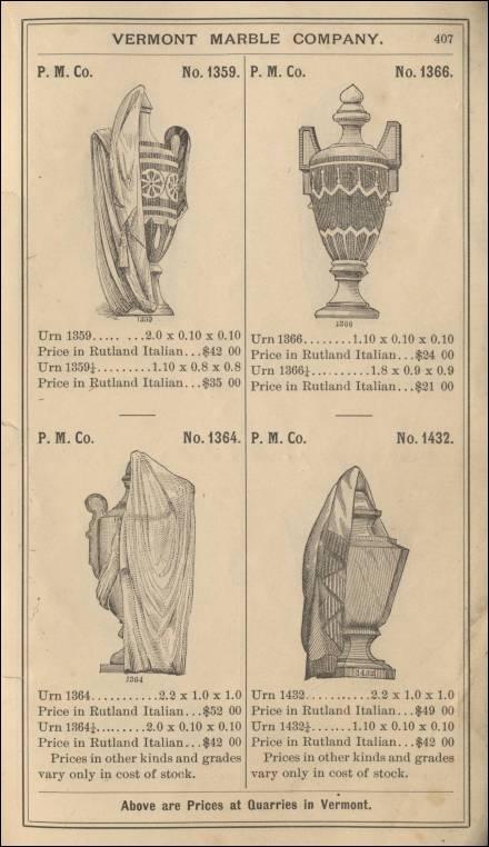 Quarry To Cemetery Monumental Cemetery Stone Catalogs