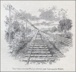 """""""Illustration of Perspective and Vanishing Point"""" (1902)"""