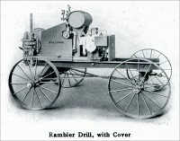 """Sullivan 'Rambler' Diamond Core Drill,"" ""Mine and Quarry,"" Sullivan Machinery Co., Chicago, Illinois, January 1913, pp. 725"
