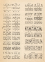 "Moulding designs from Part 1 of ""The Decoration of Mouldings,""""The Monumental News,"" June 1905"