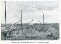 """Sauk Rapids Company, Quarry No. 2, Sauk Rapids, Minnesota"" ""Development of the Sauk Rapids Granite Company,"" ""Mine and Quarry,"" January 1916, pp. 898-903"