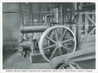 """Sullivan 445-foot Angle-Compound Air Compressor, Quarry No. 3, Sauk Rapids Granite Company"" ""Development of the Sauk Rapids Granite Company,"" ""Mine and Quarry,"" January 1916, pp. 898-903"