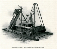 """Sullivan Class 6 ½ Single Gang Marble Channeler."" (""The Marble Industry in New York State,"" Mine and Quarry, February 1907, pp. 101)"