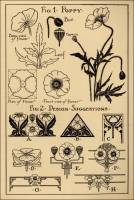 "Poppy Patterns in ""Monumental Drawing and Lettering: The Poppy in Applied Ornament"" (1926)"