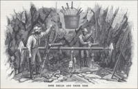 "Rock Drills and Their Uses (""Scientific American"" 1880)"