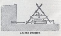 "Quarry machine (""Scientific American"" 1880)"