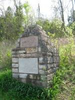 Memorial to the Arkansas stone contributed to the Washington Monument (photograph by Abby Burnett)