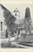 """Mission Garden at Santa Barbara,"" from ""The Missions of California,"" by E.L. Smyth, 1899"
