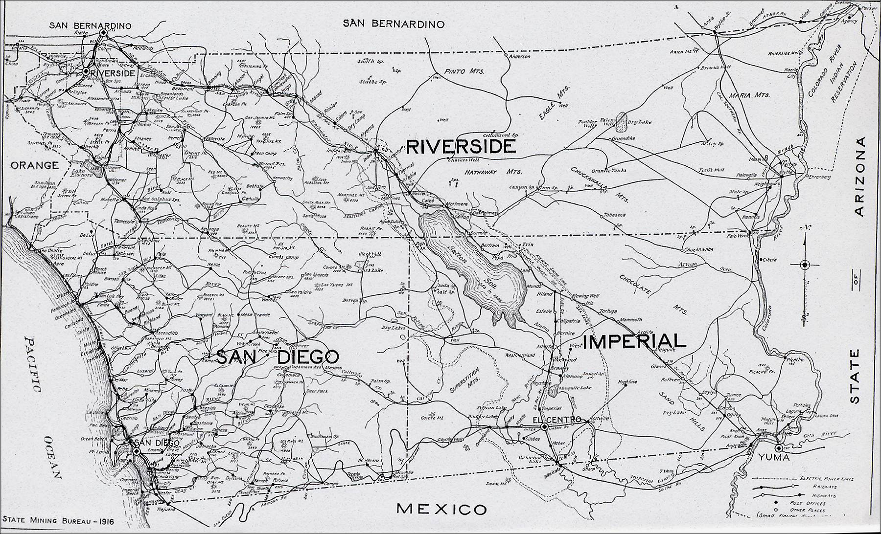 San Diego County Maps