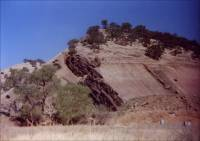 Photograph of the left side of the Browstone Quarry