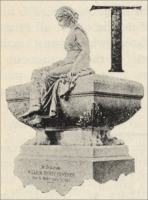 "A part of the William Henry Gunther Monument, Greenwood Cemetery, Brooklyn, New York, from ""Charles B. Canfield and His Work,"" The Monumental News, Jan. 1896"