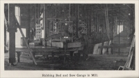 """Rubbing bed and saw gangs in mill,"" from Colorado Slate, the Colorado Slate Company, 1908"
