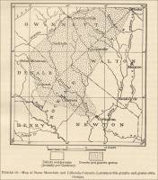 Map of Stone Mountain and Lithonia-Conyers-Lawrenceville granite and gneiss area