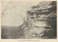 Chalk Cliff on the Sioux river, Plymouth County