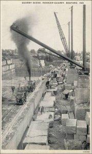 Quarry Scene, Hoosier Quarry, Bedford, Indiana