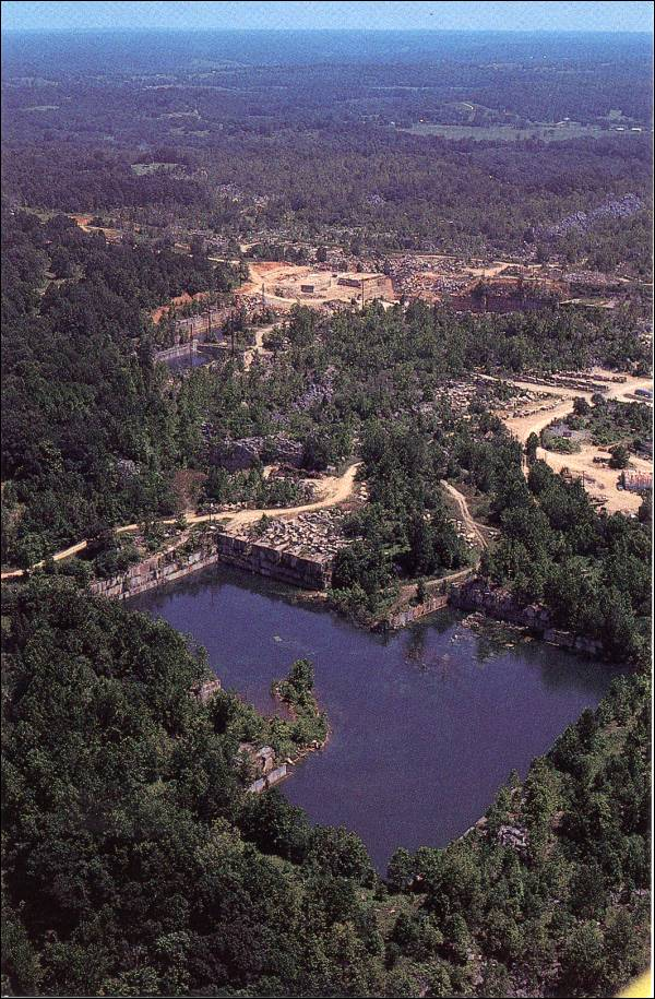 List of Quarries in Indiana & Quarry Links, Photographs and Articles