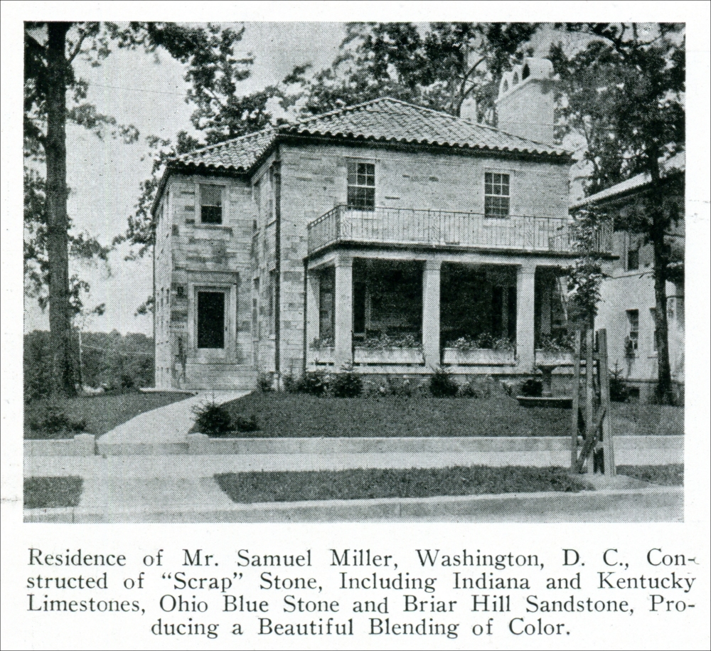 Stone Residence 1: Structures And Monuments In Which Indiana Stone Was Used