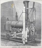 """Wardwell's Stone Quarrying Machine,"" ""Scientific American,"" March 29, 1873, p. 191"
