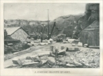 """A cornish granite quarry."" (Cornwall, England) Stone Magazine, Vol. XXVII, No. 2, December 1903"