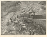 """Loading the Marble, Quarries of Carrara."" Scientific American, April 8, 1899, pp. 215"