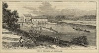"""View of the Canal at Augusta, Ga.,"" ""Frank Leslie's Populat Monthly,"" Dec. 1880"