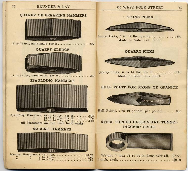 Brunner And Lay Tool Catalog
