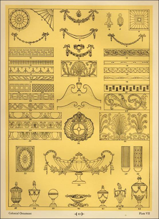 Colonial Patterns Inspiration Colonial Patterns Huerco S Pattern Beauteous Colonial Patterns