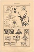 "Poppy Design Suggestions for use on cemetery monuments, ""Design Hints for Memorial Craftsmen,"" May 1926"