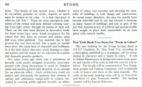 """""""New Marble Symbol of Truth in Architecture."""" From Stone, Vol. XLVI, No. 10, October 1925, pp. 602"""