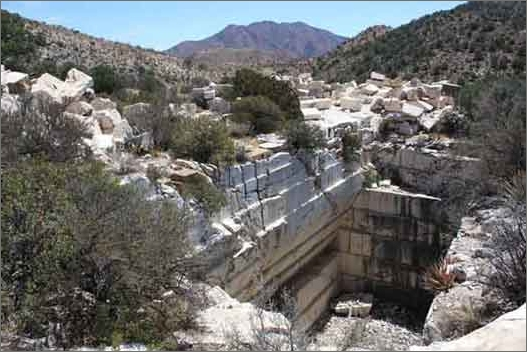 List of Quarries in Arizona & Quarry Links, Photographs and Articles