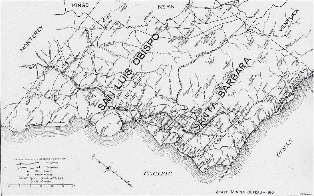 Image Result For Map San Luis Obispo County