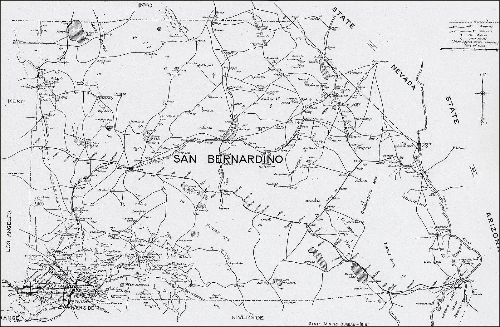 Image Result For San Bernadino Map