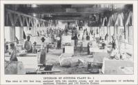 Interior of Cutting Plant No. 1
