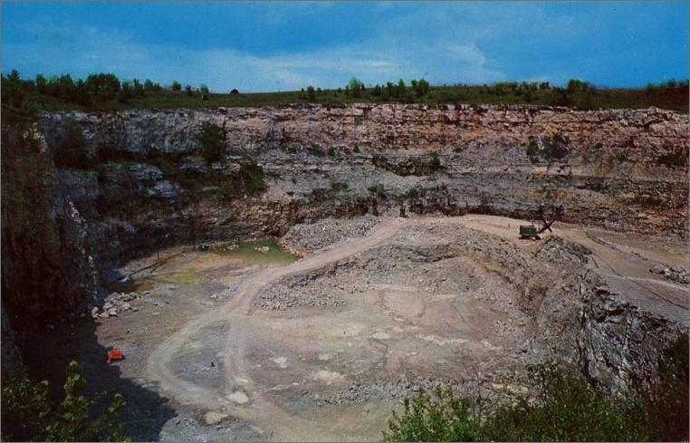 Red Granite Ohio : List of quarries in illinois quarry links photos