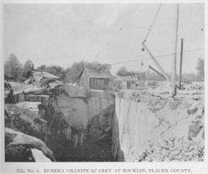 Eureka Granite Quarry at Rocklin