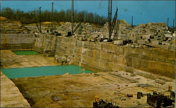 Indiana - Quarry Links, Photographs and Articles