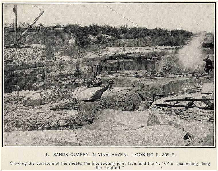 Quarries In Maine Amp Quarry Links Photographs And Articles
