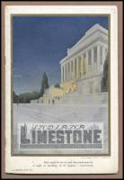 """Front cover of """"Indiana Limestone: The Aristocrat of Building Materials,"""" 1920"""
