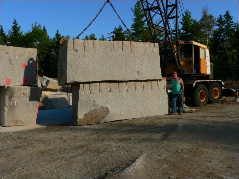 Whales Back Granite Quarry, Sullivan, Maine