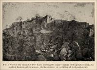 Plate II. Fig. 1. View of the summit of Pilot Knob