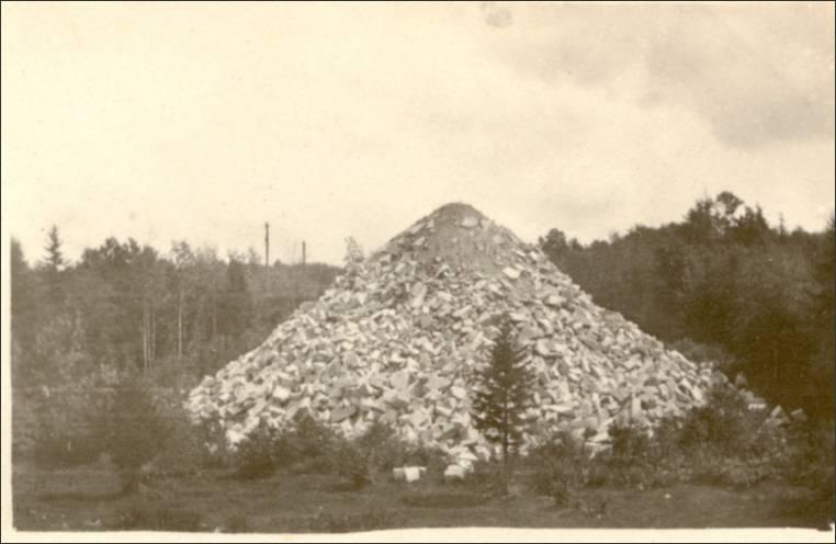 Photographs of the J  K  Pirie Granite Quarry Group #1
