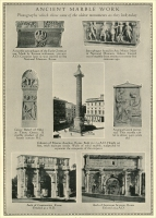 """Ancient Marble Work - Photographs which show some of the oldest monuments as they look today."" (from ""The Memory Stone 1768-1926,"" Vermont Marble Co., Proctor, Vermont)"